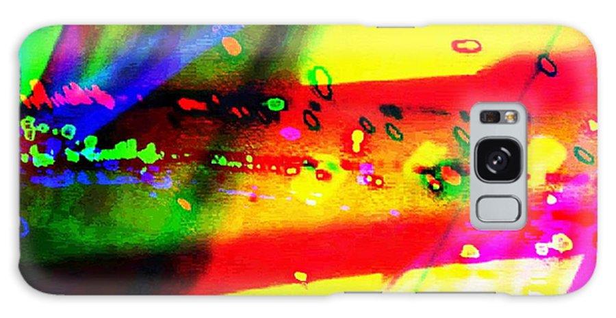 Art Digital Art Galaxy S8 Case featuring the digital art Rgb3a - York by Alex Porter