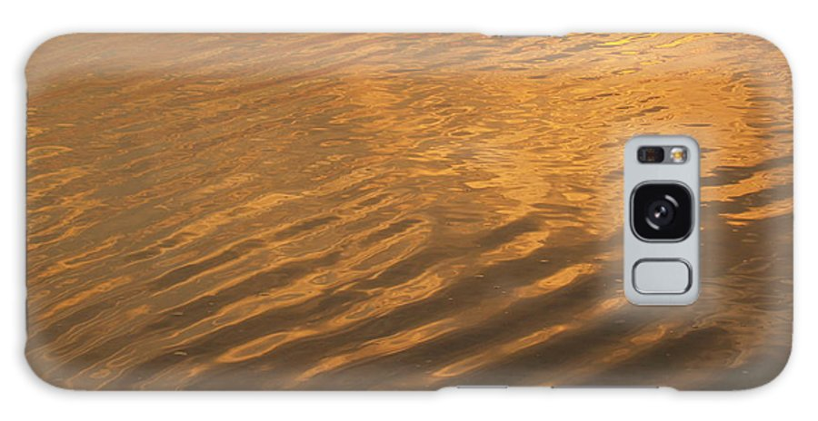 Sunrise Galaxy S8 Case featuring the photograph Rhythmic Sea At Hunting Island by Anna Lisa Yoder