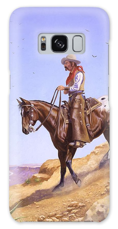 Appaloosa Galaxy Case featuring the painting Ridin' High by Howard Dubois
