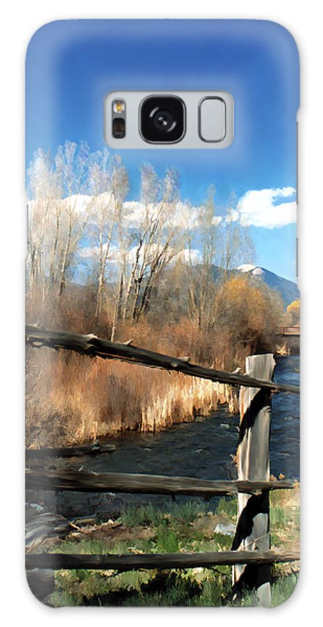 River Galaxy S8 Case featuring the photograph Rio Pueblo by Kurt Van Wagner