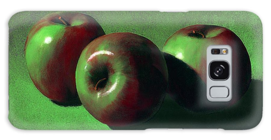 Still Life Galaxy Case featuring the painting Ripe Apples by Frank Wilson