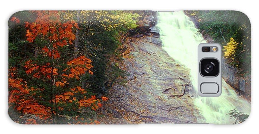 Waterfall Galaxy S8 Case featuring the photograph Ripley Falls Autumn by John Burk