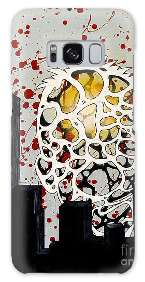 Energy Galaxy Case featuring the painting Rise by A 2 H D