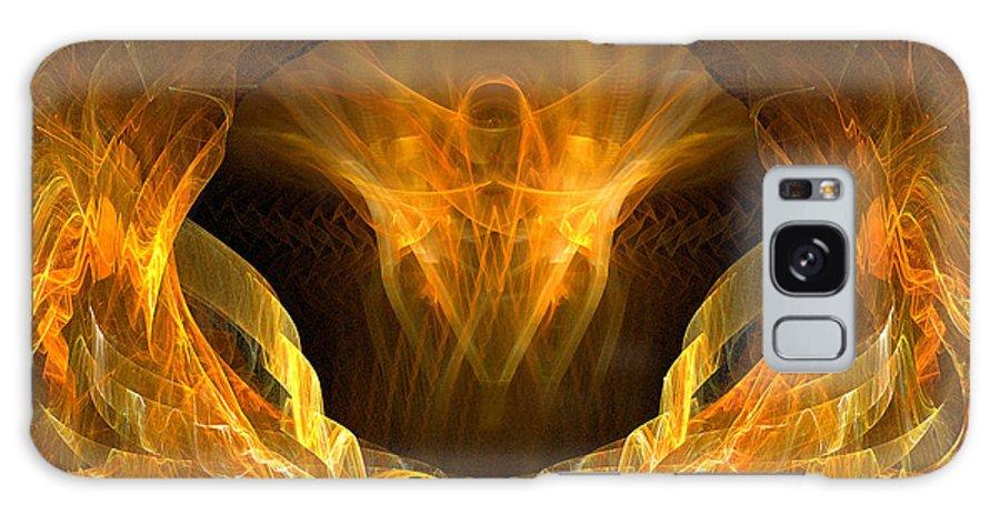 Christian Art Galaxy S8 Case featuring the digital art Risen by R Thomas Brass