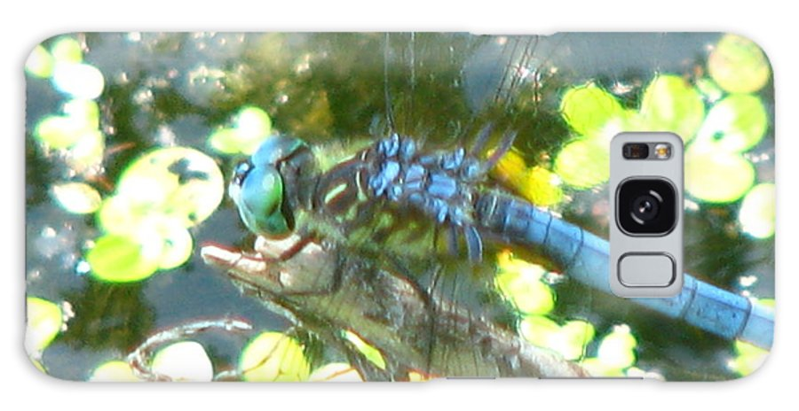 Dragonfly Galaxy S8 Case featuring the photograph River Of Green by Paul Slebodnick