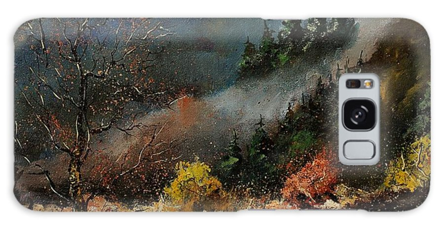 River Galaxy Case featuring the painting River Semois by Pol Ledent