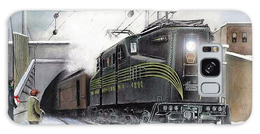 Pennsylvania Railroad Galaxy Case featuring the painting Rivets by David Mittner
