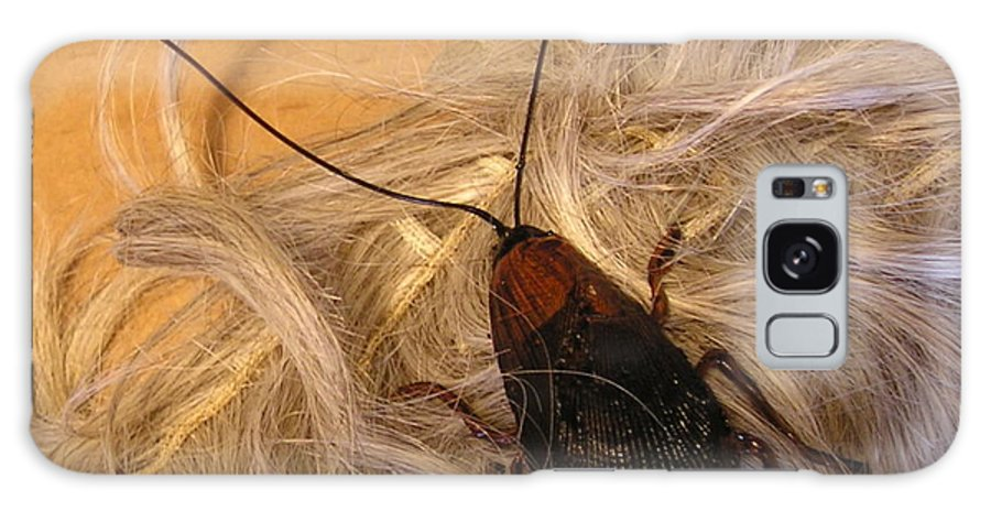 Jewelry Galaxy S8 Case featuring the sculpture Roach Hair Clip by Roger Swezey