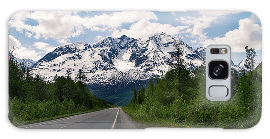 Alaska Galaxy S8 Case featuring the photograph Road To Valdez by Kelly Maize