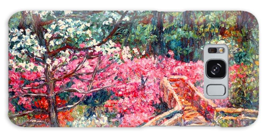 Garden Galaxy S8 Case featuring the painting Roanoke Beauty by Kendall Kessler