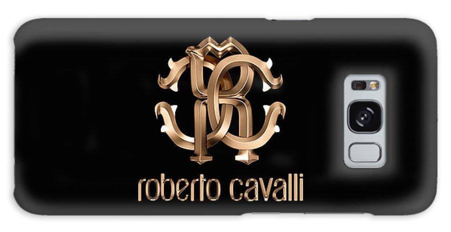 Roberto Cavalli Galaxy S8 Case featuring the digital art Roberto Cavalli by Aaron De Wulf