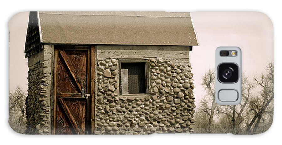 Americana Galaxy S8 Case featuring the photograph Rock Shed 2 by Marilyn Hunt