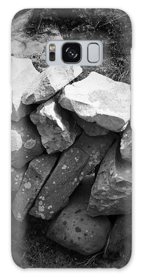 Irish Galaxy Case featuring the photograph Rock Wall Doolin Ireland by Teresa Mucha