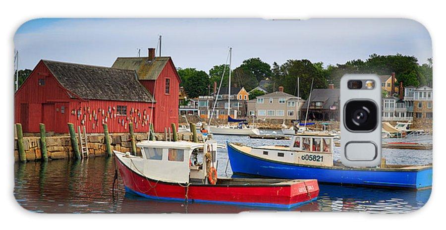Cape Neddick Galaxy S8 Case featuring the photograph Rockport Harbor 2 by Emmanuel Panagiotakis
