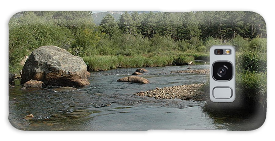 Nature Galaxy Case featuring the photograph Rocky Mountain Stream by Kathy Schumann