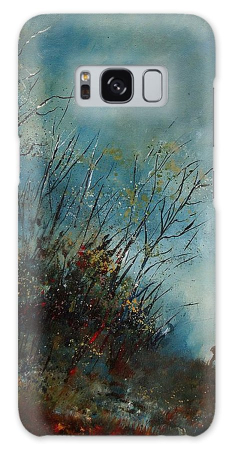 Animal Galaxy S8 Case featuring the painting Roedeer In The Morning by Pol Ledent