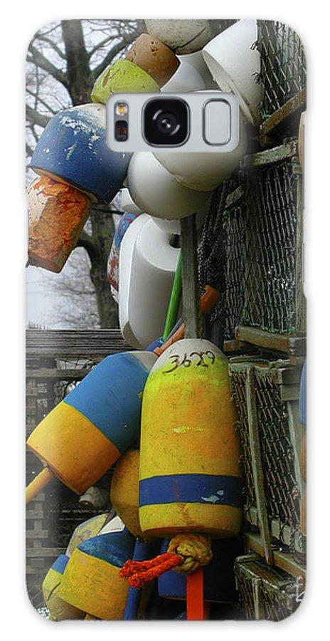 Lobster Galaxy S8 Case featuring the photograph Roger's Buoys by Faith Harron Boudreau