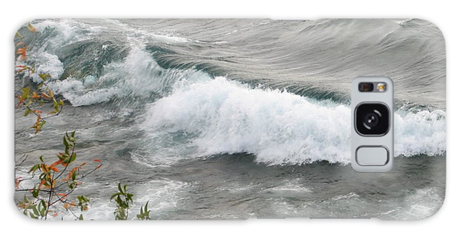 Wave Galaxy Case featuring the photograph Rolling by Kelly Mezzapelle
