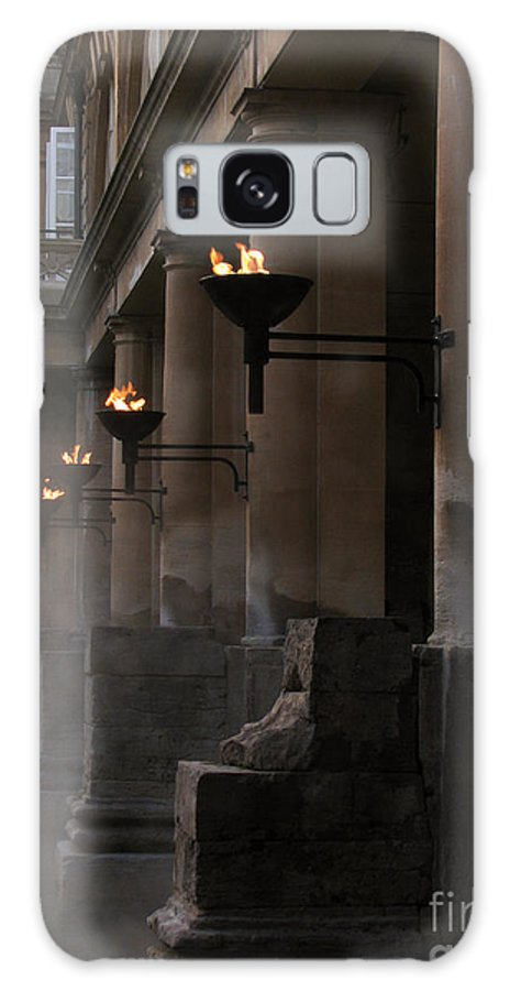 Bath Galaxy Case featuring the photograph Roman Baths by Amanda Barcon