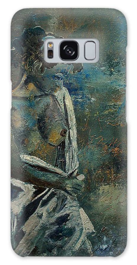 Nude Galaxy S8 Case featuring the painting Roman Nude 45 by Pol Ledent