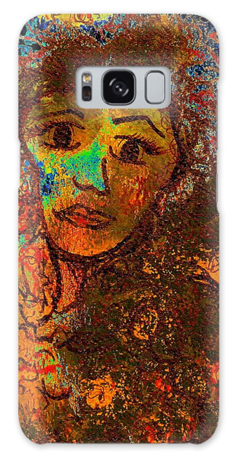 Romantic Memories Galaxy S8 Case featuring the painting Romantic Memories by Natalie Holland