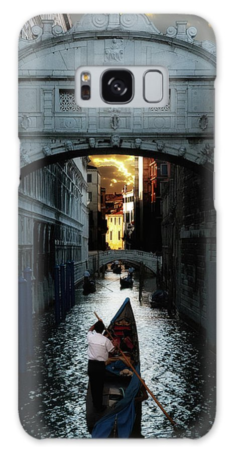 Venice Galaxy S8 Case featuring the photograph Romantic Venice by Harry Spitz