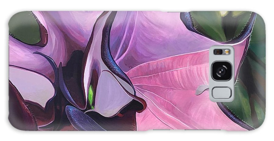 Datura Galaxy Case featuring the painting Romantico by Hunter Jay