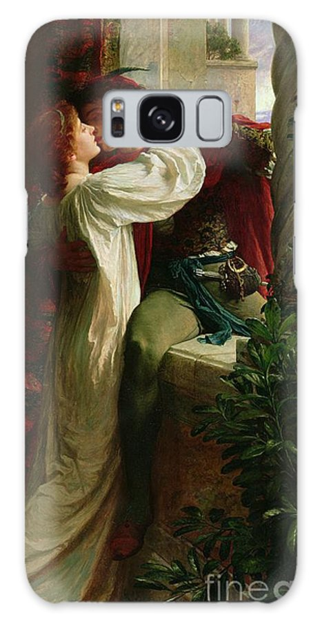 Romeo And Juliet Galaxy Case featuring the painting Romeo And Juliet by Sir Frank Dicksee