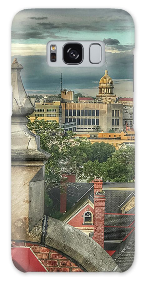 Galaxy S8 Case featuring the photograph Rooftop View by Anna Jo Noviello