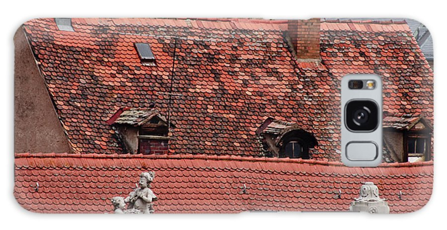 Bamberg Galaxy S8 Case featuring the photograph Rooftops Of Bamberg II by Thomas Marchessault