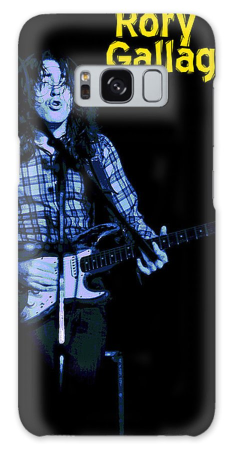 Rock Musicians Galaxy S8 Case featuring the photograph Feeling Bought And Sold by Ben Upham