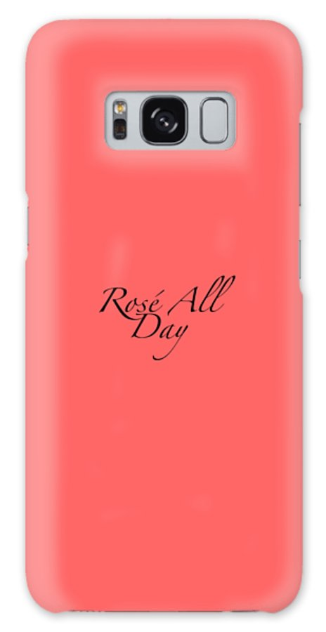 Wine Galaxy S8 Case featuring the digital art Rose All Day by Rosemary Nagorner