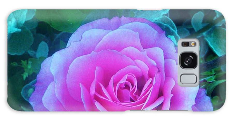 Rose Galaxy S8 Case featuring the photograph Rose Petal Perfection by Daniele Smith