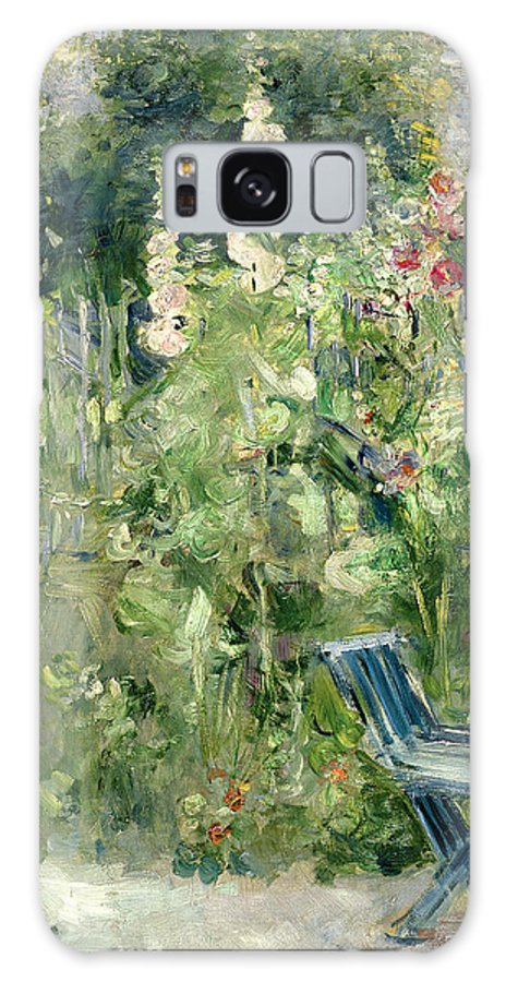 Roses Galaxy S8 Case featuring the painting Roses Tremieres by Berthe Morisot