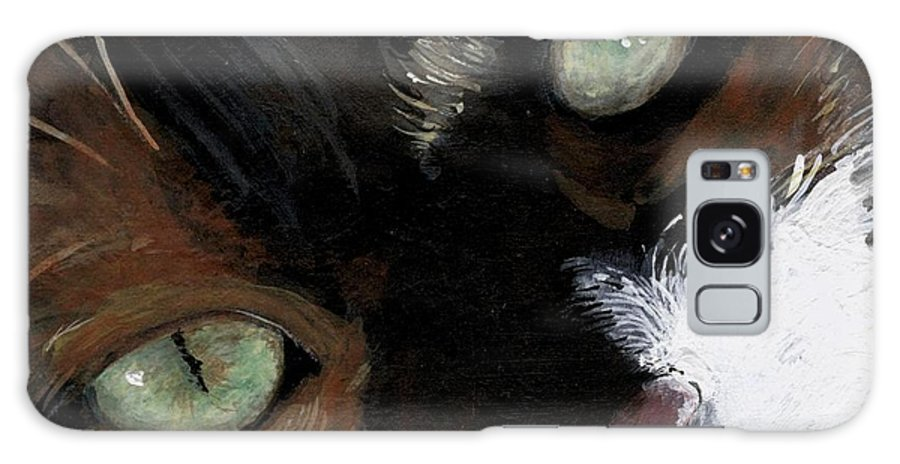 Charity Galaxy Case featuring the painting Rosie by Mary-Lee Sanders