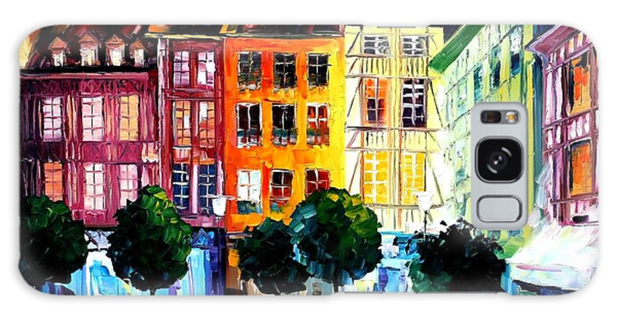 Afremov Galaxy S8 Case featuring the painting Rouin France by Leonid Afremov