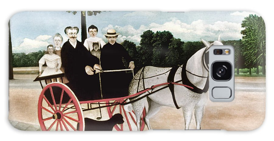 1908 Galaxy S8 Case featuring the photograph Rousseau: Cart, 1908 by Granger