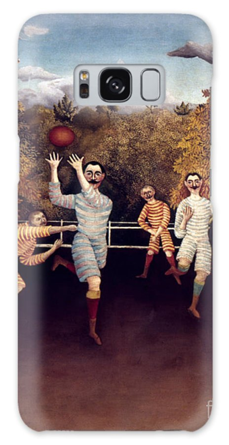1908 Galaxy S8 Case featuring the photograph Rousseau: Football, 1908 by Granger