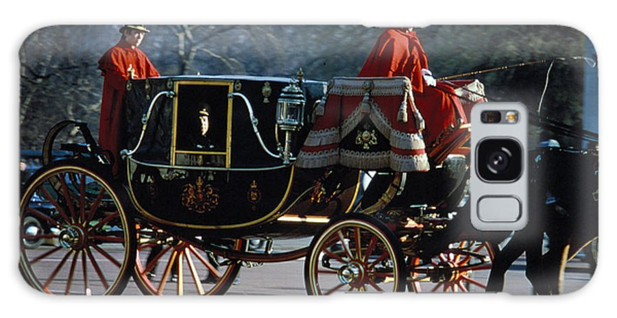 Coach Galaxy Case featuring the photograph Royal Carriage In London by Carl Purcell