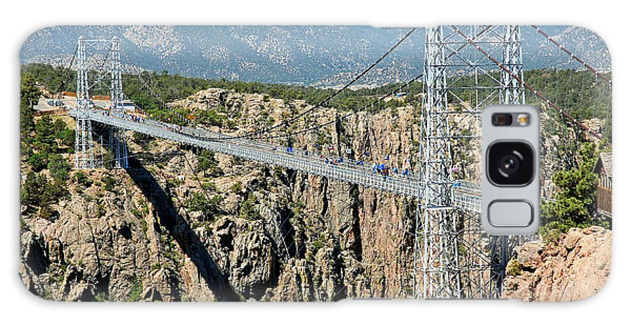 Royal Gorge Bridge Galaxy S8 Case featuring the photograph Royal Gorge Bridge In Summer by Robert Meyers-Lussier