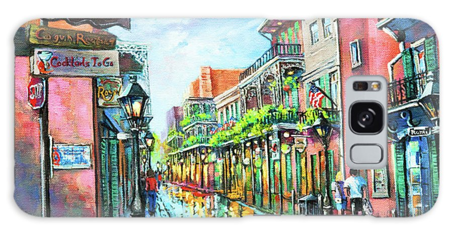 New Orleans Galaxy S8 Case featuring the painting Royal Lights by Dianne Parks