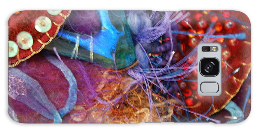 Galaxy S8 Case featuring the mixed media Ruby Slippers 6 by Judy Henninger