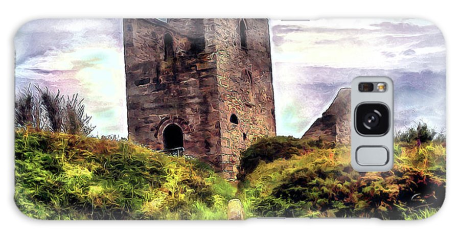 Ruins Galaxy S8 Case featuring the digital art Ruins Of The Old Tin Mine by Pennie McCracken
