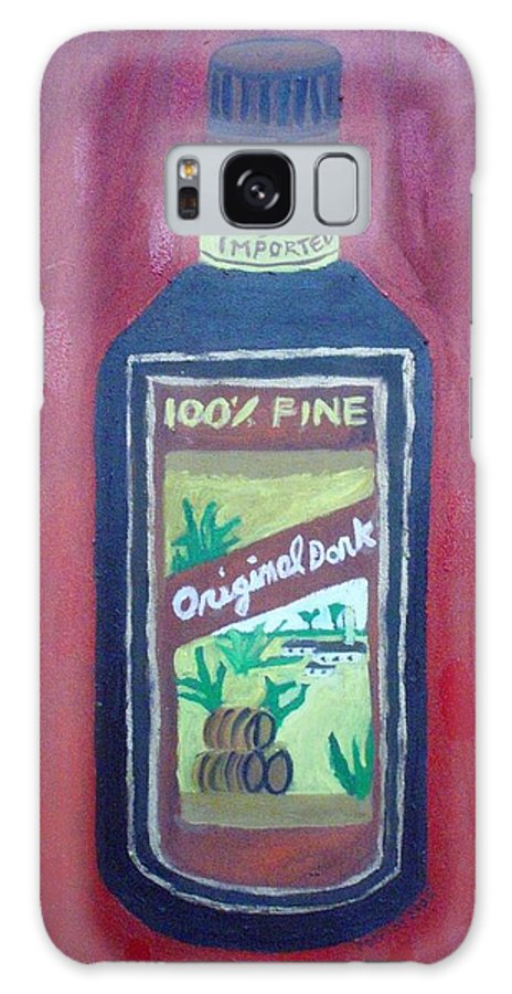 Oil On Canvas Galaxy S8 Case featuring the painting Rum by Patrice Tullai