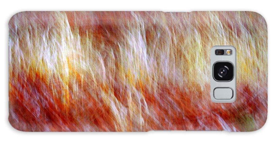 Abstract Art Galaxy S8 Case featuring the digital art Run Like Hell by Linda Sannuti