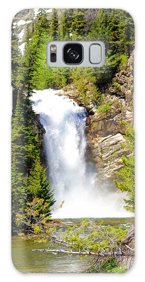 Waterfalls Galaxy S8 Case featuring the photograph Running Eagle Falls by Marty Koch