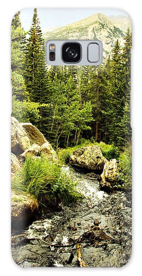 Colorado Galaxy Case featuring the photograph Running River by Marilyn Hunt