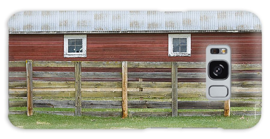 Barn Galaxy Case featuring the photograph Rural Patterns by Idaho Scenic Images Linda Lantzy
