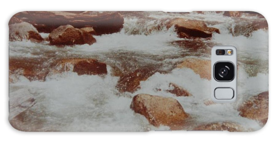 Water Galaxy Case featuring the photograph Rushing Water by Rob Hans