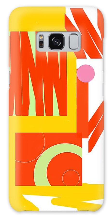 Rust.gold Galaxy S8 Case featuring the digital art Rust Gold 1 by Julia Woodman